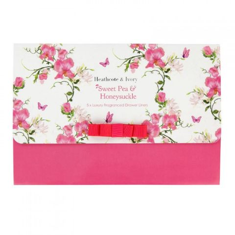 Sweet Pea & Honeysuckle Drawer Liners Heathcote & Ivory (Pack of 5)